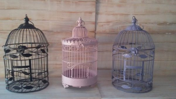 Purple Bird Cage