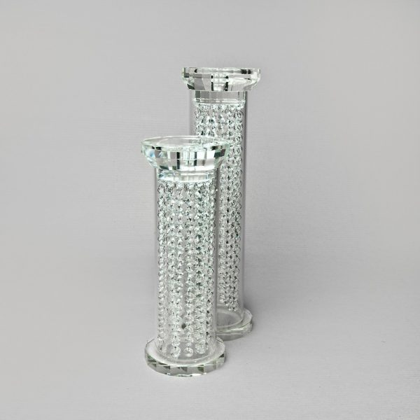 Fat Crystal Candle holder- Not for dry hire