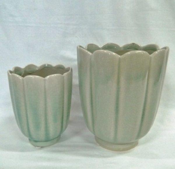 Sage Tulip Bowl Medium