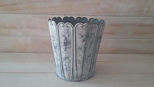 White Washed Vase