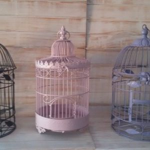 Purple Bird Cage