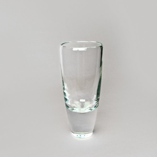 Heavy Base Glass Vase