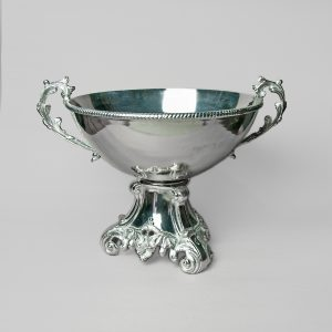 Moulded silver Champagne Bowl