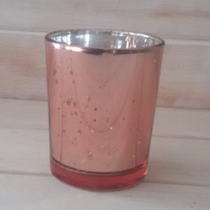 Rose Gold Tealight Votive