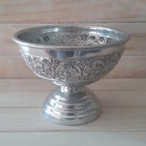 Silver Embossed vase