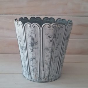 White Washed Vase
